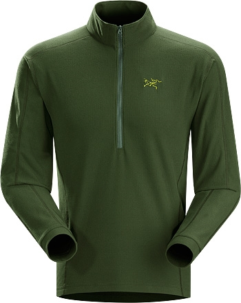Arc Teryx Men 180 S Delta Lt Zip Neck